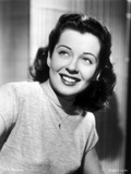 Gail Russell smiling in Shirt Photo by  Movie Star News