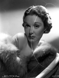 Gail Patrick on a Furry Shawl Photo by  Movie Star News