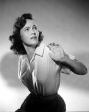 Teresa Wright Posed in Classic Photo by  Movie Star News