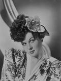 Susan Hayward Posed in Kimono Photo by  Movie Star News
