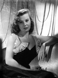 June Allyson Seated in Classic Photo by  Movie Star News