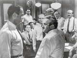 Twelve Angry Men Fight Scene Photo by  Movie Star News