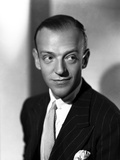 Fred Astaire smiling in Tuxedo Photo by E Bachrach