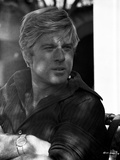 Robert Redford in Sweat Shirt Photo by Frank Shugrue