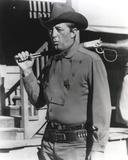 Robert Mitchum Holding a Rifle Photo by  Movie Star News