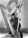 Marx Brothers Cast Playing Harp Photo by  Movie Star News