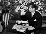 Lucille Ball smiling with Man Photo by  Movie Star News