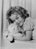 Shirley Temple Lying in Dress Photo by  Movie Star News