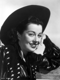 Gail Russell Leaning in Classic Photo by  Movie Star News