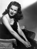 Gale Storm Seated in Classic Photo by  Movie Star News