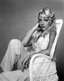 Lynn Johnson Seated in Classic Photo by  Movie Star News