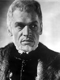 Paul Scofield Posed in Fur Coat Photo af Movie Star News
