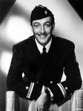 Robert Taylor in Navy Uniform Photo by  Movie Star News