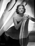 Myrna Loy Seated in Tube Dress Photo by  Willinger