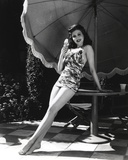 Ann Miller Leaning in Lingerie Photo by  Movie Star News