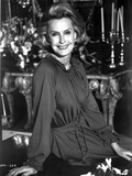 Dina Merrill Seated in Classic Photo by  Movie Star News