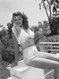 Rita Hayworth Posed in Lingerie Photo by  Movie Star News