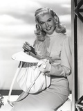 Doris Day smiling in Classic Photo by  Movie Star News