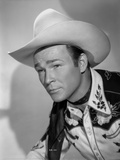 Roy Rogers Posed in Portrait Photo by Jack Freulich