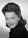 Anne Baxter smiling and posed Photo by  Movie Star News