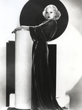 Alice Faye on a Gown standing Photo by  Movie Star News