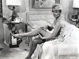 Doris Day Seated in Lingerie Photo by  Movie Star News