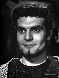 Omar Sharif in Black and White Photo by  Movie Star News