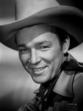 Roy Rogers Happy in Cowboy Hat Photo by Jack Freulich
