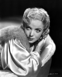 Ida Lupino on a Furry Collar Photo by  Movie Star News