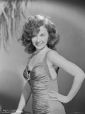 Susan Hayward wearing a Dress Photo by  Movie Star News