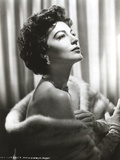 Ava Gardner in a Furry Cloth Photo by  Movie Star News