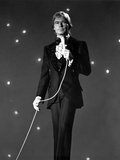 John Denver in Black Suit Photo by  Movie Star News
