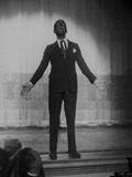 Al Jolson on Stage Photo by  Movie Star News