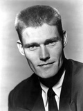 Chuck Connors in Black Suit Photo by  Movie Star News