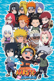 Naruto Shippuden- Chibi Characters Posters