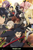 Seraph Of The End- Key Characters Affiches