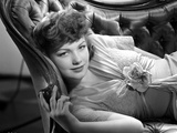 Anne Baxter Lying and posed Photo by  Movie Star News