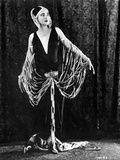 Nita Naldi on a Dress posed Photo by  Movie Star News