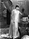 Theda Bara on Printed Dress Photo by  Movie Star News