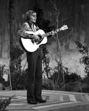 John Denver Playing Guitar Photo by  Movie Star News