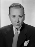 George Raft Posed in Suit Photo by E Bachrach