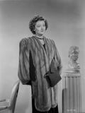 Myrna Loy Posed in Robe Photo by Gaston Longet