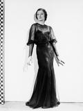 Myrna Loy in Black Dress Photo by  Movie Star News