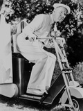 W C Fields on a Vehicle Photo by  Movie Star News