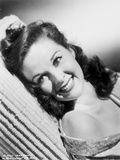 Susan Hayward smiling Posed Photo by  Movie Star News