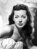 Gail Russell Posed in White Photo by  Movie Star News