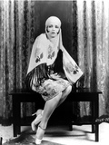 Clara Bow Posed in Veil Photo by  Movie Star News