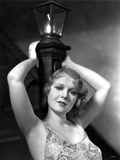 Anita Page on a Printed Top Foto af  Movie Star News