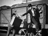 Fred Astaire Riding a Train Photo by  Movie Star News