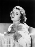 Myrna Loy Seated in Classic Photo by  Movie Star News